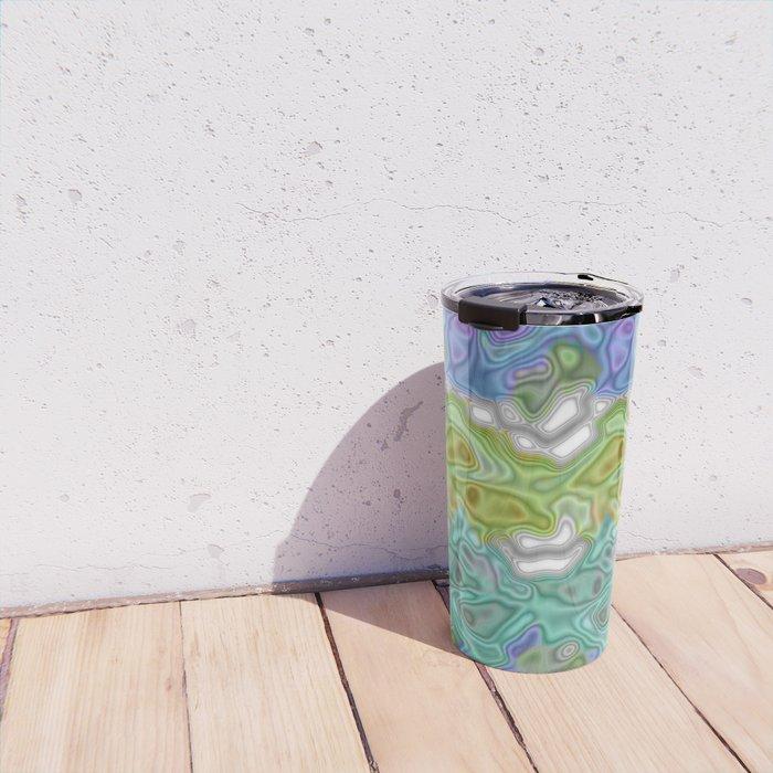 Topography Digital Bayadere Stripe Travel Mug