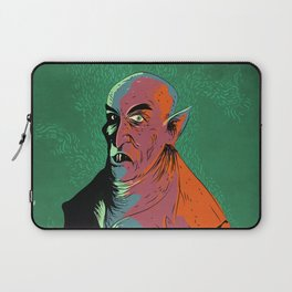 Nosferatu At Rest Laptop Sleeve