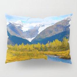 Autumn in Portage Valley - Alaska Pillow Sham