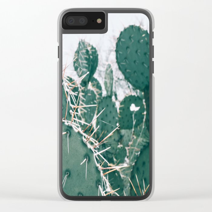 Arizona Cactus II Clear iPhone Case