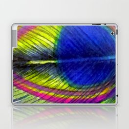 Violet Fringed with Golden Amber Laptop & iPad Skin