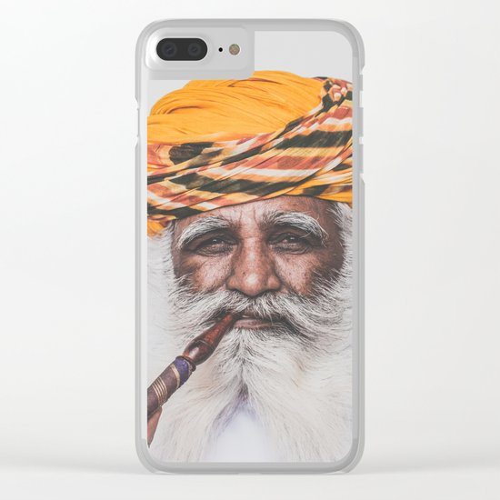 Jodhpur (colour) Clear iPhone Case
