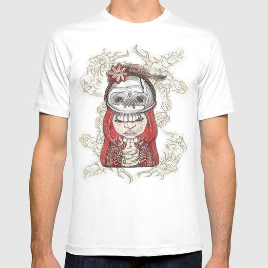 i wear my lucky skull T-shirt
