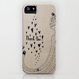 THANK YOU! iPhone Case