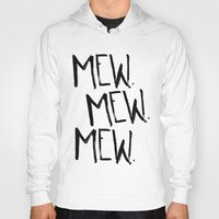 mew Hoodies featuring Mew. by Jenna Settle