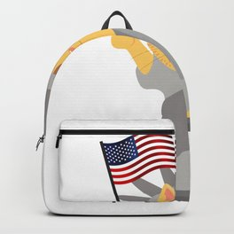 Cat Independence Day - 4th July Backpack