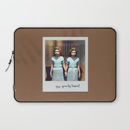 The greedy twins! Laptop Sleeve