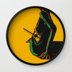 Swimmer #1 Wall Clock
