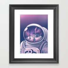 Far from home Framed Art Print