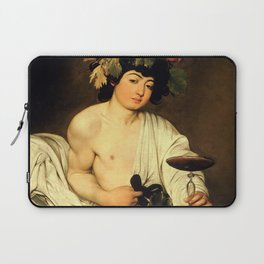 "Michelangelo Merisi da Caravaggio ""Bacchus"" Laptop Sleeve"