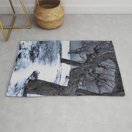 Snow covered Wasteland Rug