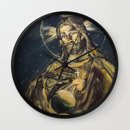 I am the light of the world Wall Clock