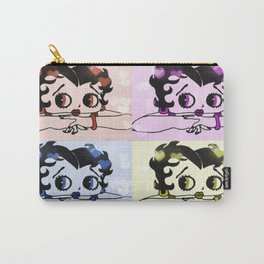 4 Times Betty Boop Carry-All Pouch