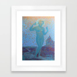 Lost in Spacetime Framed Art Print