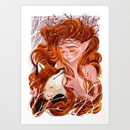 Autumn Spell Art Print
