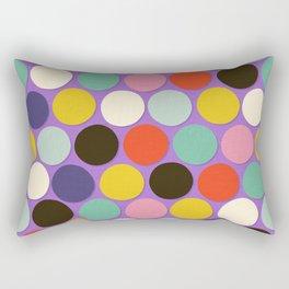chelsea spot lavender Rectangular Pillow