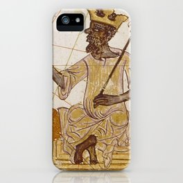 Black is Gold Art iPhone Case