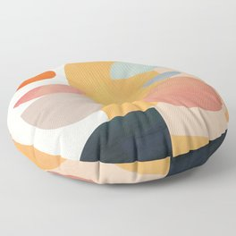 Modern Abstract Art 70 Floor Pillow