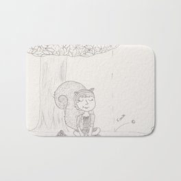 Squirrel Girl - Chestnut Season Bath Mat