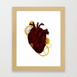 Clockwork Heart Framed Art Print