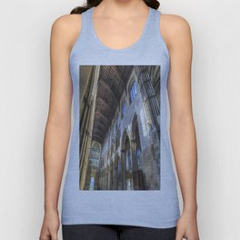 Rochester Cathedral Art Unisex Tank Top
