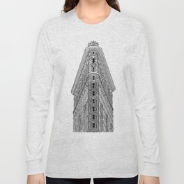 Flatiron Building Long Sleeve T-shirt