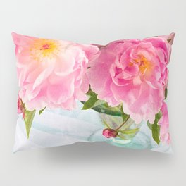 Vibrant Bouquet with filters Pillow Sham
