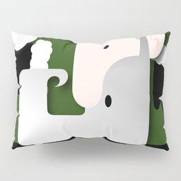 Green Santa Pillow Sham