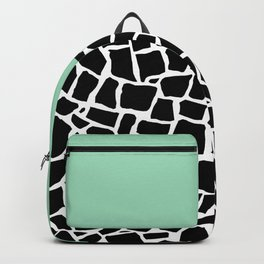 British Mosaic Mint Boarder Backpack