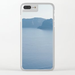 Santorini VIII Clear iPhone Case