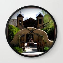 El Santuario de Chimayo Wall Clock