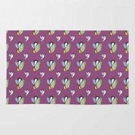 Purple Urple Print Rug
