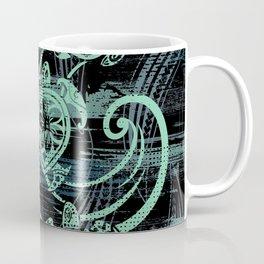 Abstract Tribal Turtles Coffee Mug