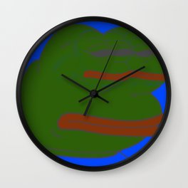 CollagenoUltrararePepe420笑 法 女 Wall Clock