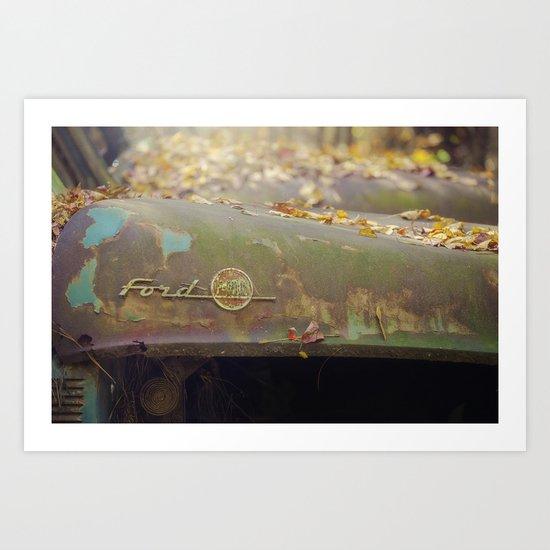Ford F 100 Art Print