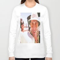 fear and loathing Long Sleeve T-shirts featuring Fear and Loathing Wherever. by Revolutionthrulife
