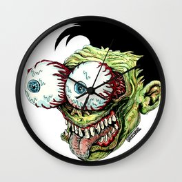 Bug Eyes Wall Clock