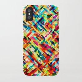 Summertime Geometric iPhone Case