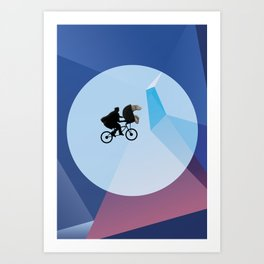 E.T (with a penis) Art Print