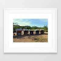 philippines Framed Art Prints featuring Rest Stop - Philippines by Michael S.