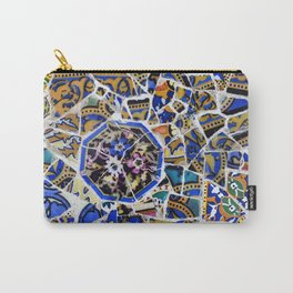 Park Güell detail of tiles Carry-All Pouch