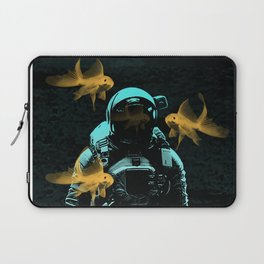 astronauts and goldfish Laptop Sleeve