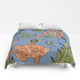One Fish Two Fish Comforters