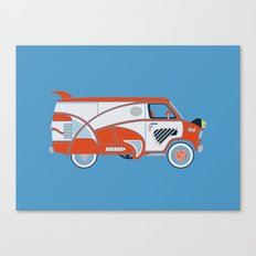 Pee Wee's Big Adventure Van Canvas Print