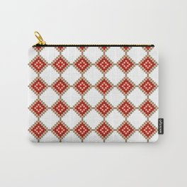 Pixelated Christmas Carry-All Pouch