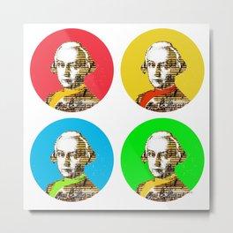 Mozart Kugeln 4c Metal Print