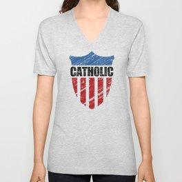 Catholic Unisex V-Neck