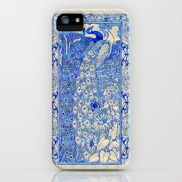 Garden Peacock Pair iPhone Case