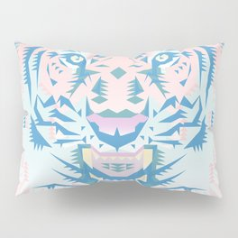 Pastel Quartz Tiger Pillow Sham