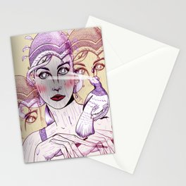 Wood Nymph Stationery Cards